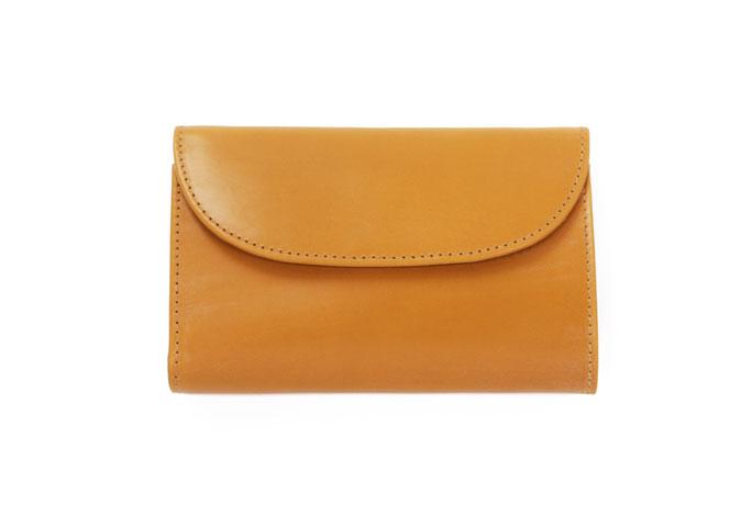 S7660 3 Fold Purse - Bridle Leather