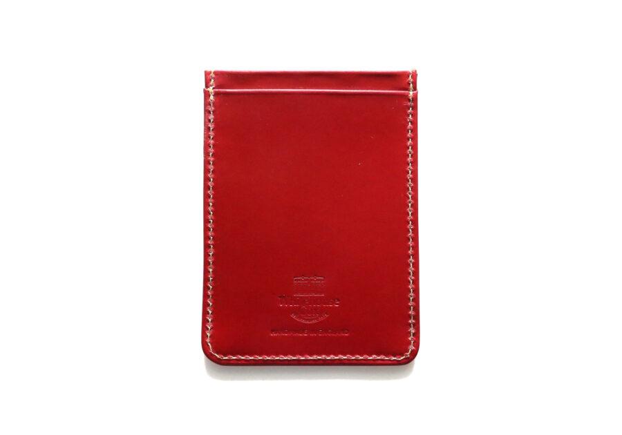 S9905 Train Pass Case - Bridle Leather