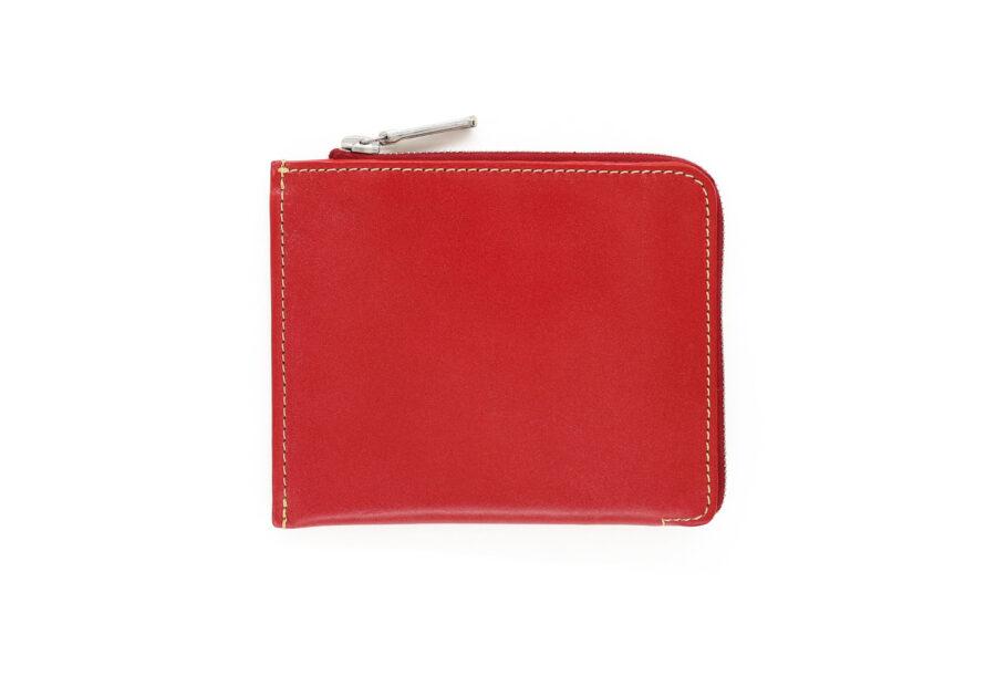 S3068 Slim Zip Wallet - Bridle Leather