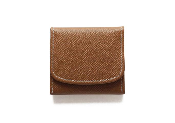 S5938 Coin Purse - London Calf x Bridle Leather